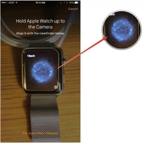 Как синхронизировать с apple watch