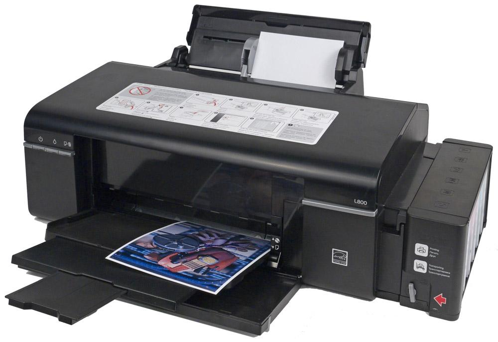 драйвер на принтер epson l800 скачать